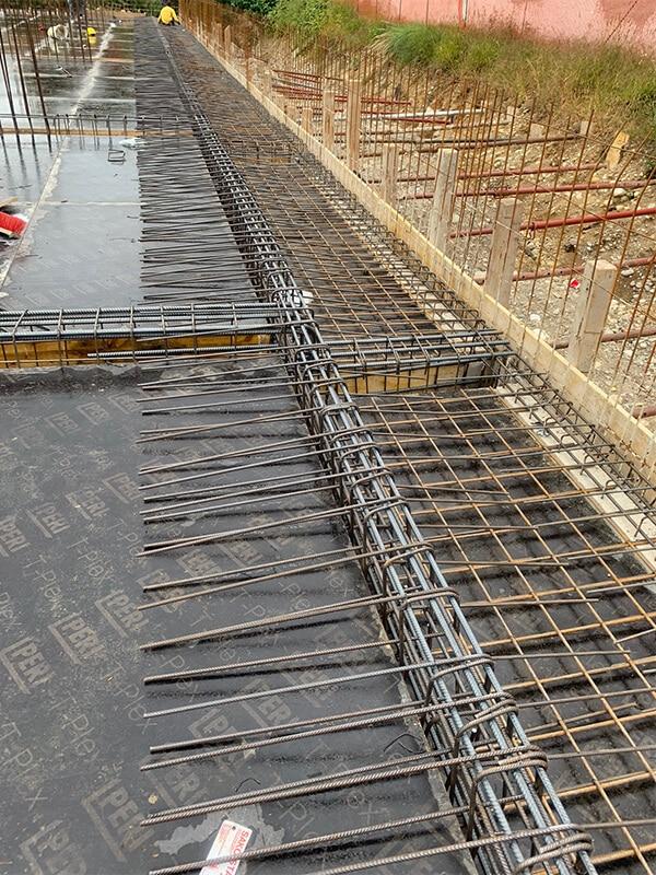 potek gradnje 2